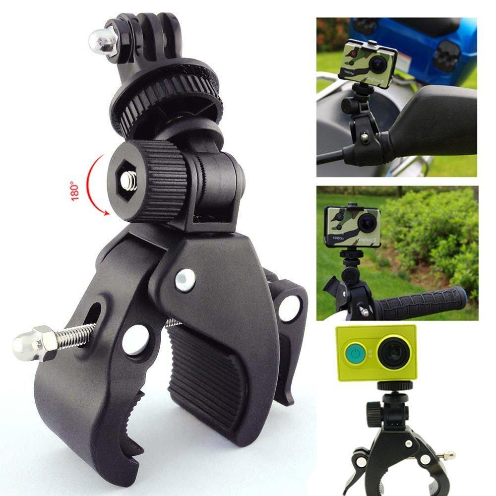 バイクマウントホルダー自転車ブラケットfor go-proカメラスタンドクロスバー、および写真Studio B074N29BFS