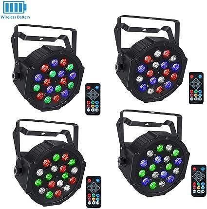 1 pcs Par light remote LaluceNatz stage lights remote controller for 18LEDs//18LEDs Battery Powered//24LEDs//24LEDs Battery Powered Stage Lights//