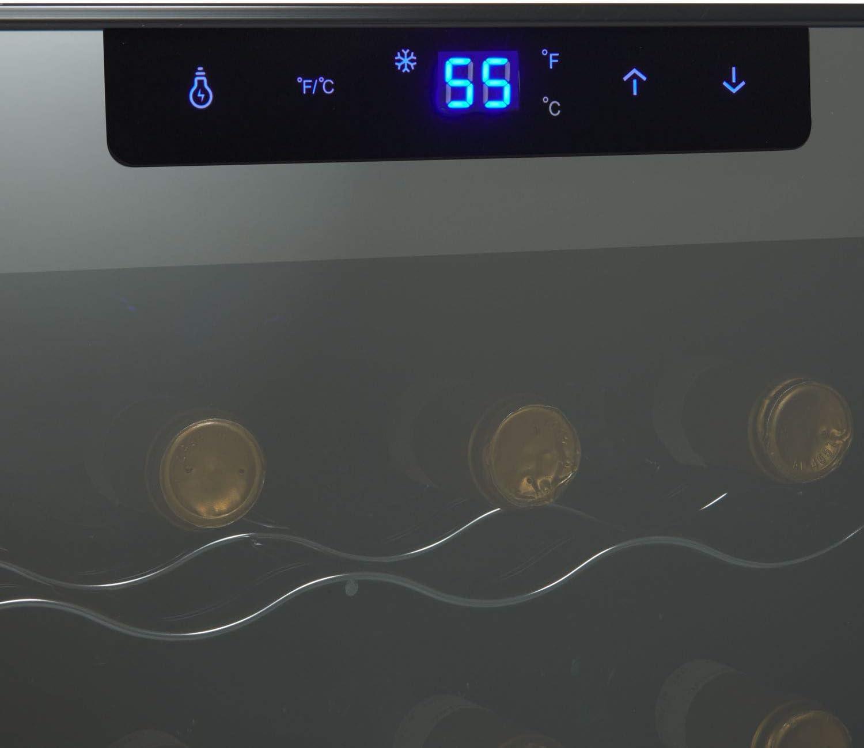 Amazon.com: Wine Enthusiast Silent - Refrigerador de vino ...