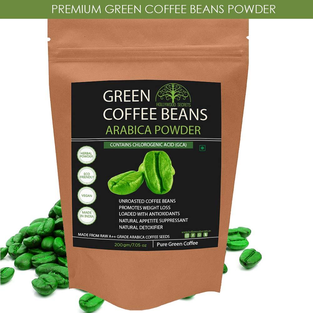 Hollywood Secrets 100 Pure Organic Arabica Green Coffee Beans