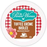 The Pioneer Woman Flavored Coffee Pods, Toffee Crème Brulee Medium Roast Coffee, Single Serve Coffee Pods for Keurig K Cup Ma