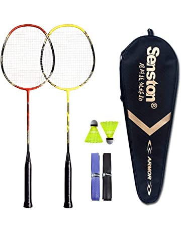 7f0b0165810 Senston 2 Pieces Carbon Alloy Badminton Set