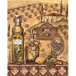 Great Art Now Flavors of Tuscany II by Charlene Audrey Art Print, 16 x 20 inches