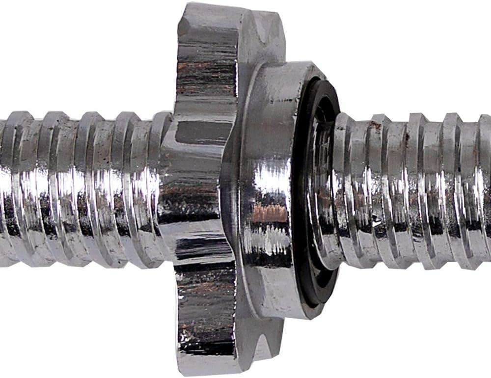 Spokey Unisex Aketon Acero Barra de Curl 120/cm Talla /única Plata