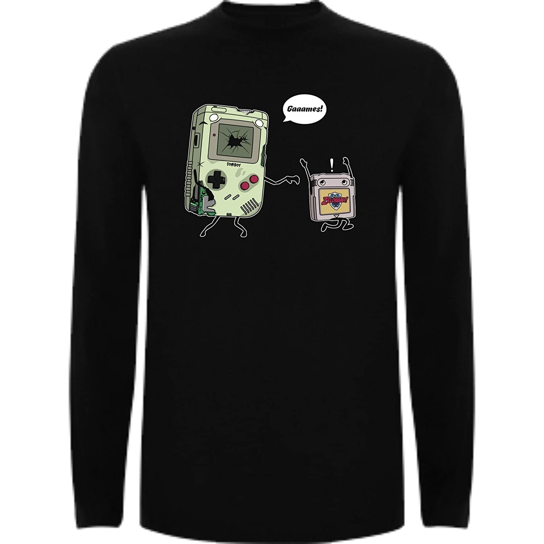 The Fan Tee Camiseta Manga Larga de Hombre Nintendo Gamer SNES NES Mario   Amazon.es  Ropa y accesorios 44ab51ca709