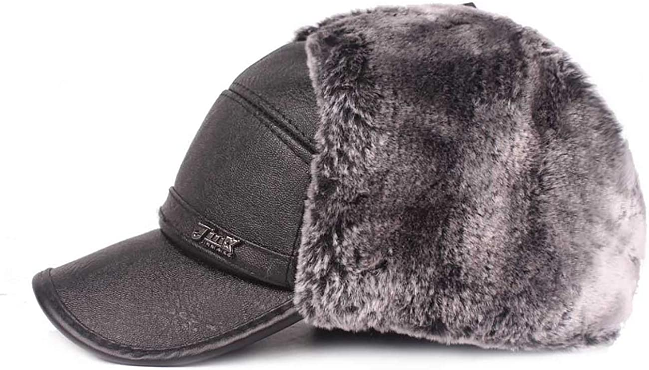THEE Hommes Chapeau dhiver Casquette Russe