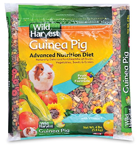Guinea Pig Diet Pet Food - Wild Harvest G1970W Wh Adv Nutrition Diet G.P. 4# Bag