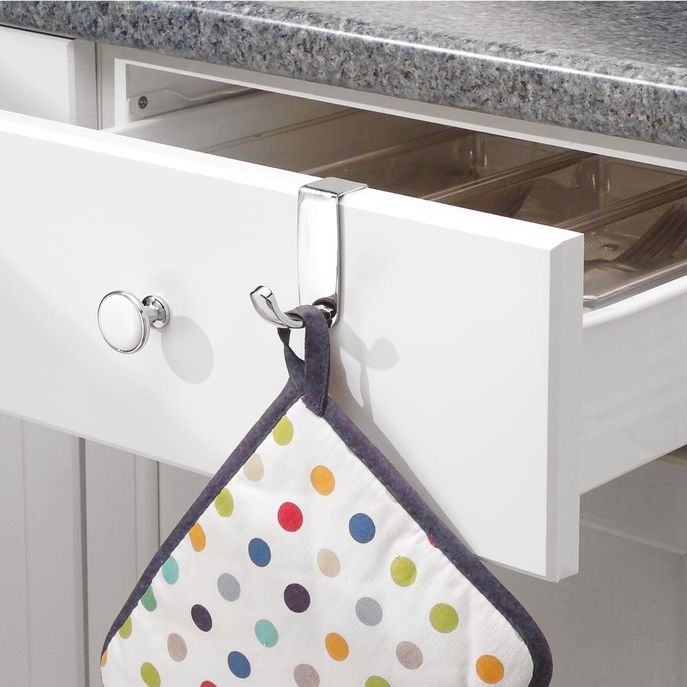 InterDesign Axis Over the Cabinet Chrome 63970 Swing Loop