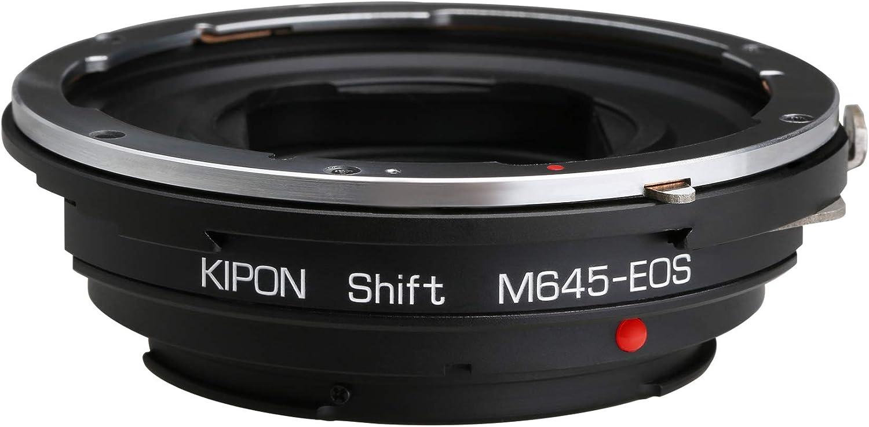 Kipon Shift Adapter for Mamiya 645 M645 Mount Lens to Canon EOS EF Camera