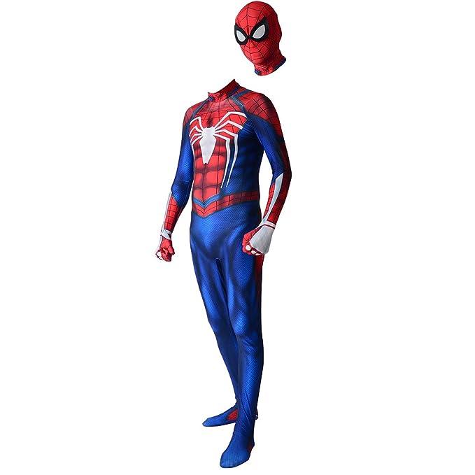 Amazon.com: Spider-Man Insomnia PS4 Traje Cosplay Disfraz 3D ...