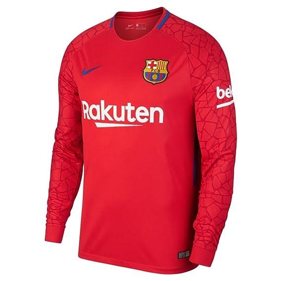 Camiseta de portero de hombre FC Barcelona 2017-2018 Breathe Stadium Nike   Amazon.es  Deportes y aire libre a98e842c8ff