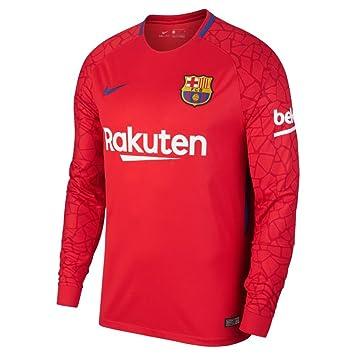 be6c73410 Camiseta de portero de hombre FC Barcelona 2017-2018 Breathe Stadium Nike   Amazon.es  Deportes y aire libre