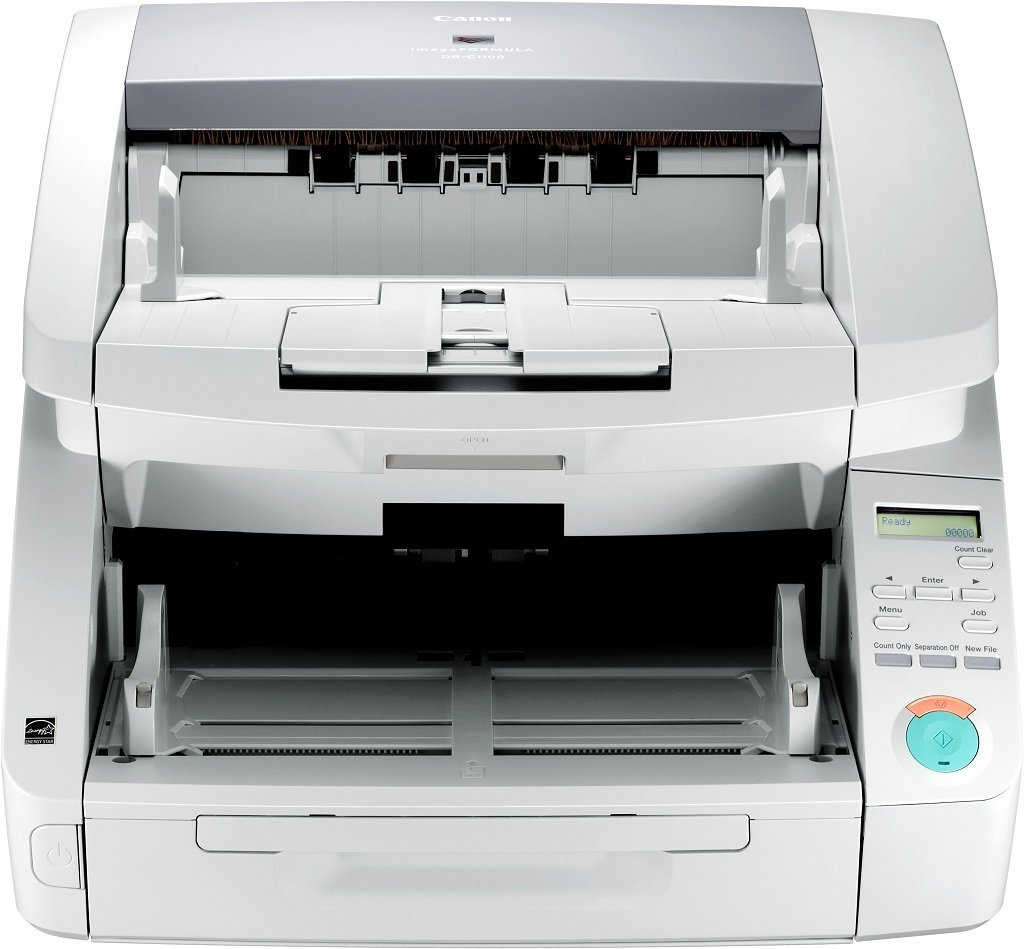 Escáner de Documentos Canon imageFORMULA DR-G1100 de Alto Volumen ...