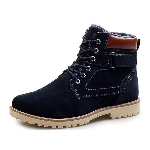 BlivenerAnkle Boots - Botas De Vaquero hombre , color azul, talla 43 EU: Amazon.es: Zapatos y complementos