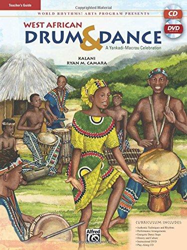Download West African Drum & Dance: A Yankadi-Macrou Celebration- Teacher's Guide (Book & CD) pdf