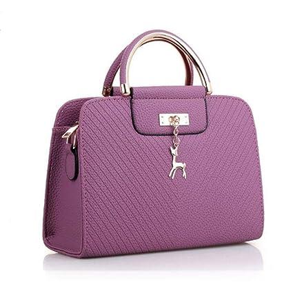 Amazon.com: Qzny Bolso de mano para mujer, bolso pequeño ...
