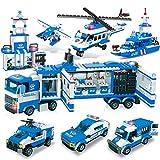 WishaLife 564 Pieces City Police Station, City Coast Guard Head Quarters Building Kit, City Police...
