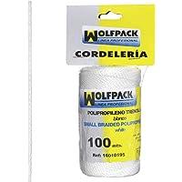 Wolfpack Trencilla 16010195 – touw polypropyleen witte spoel 100 meter)