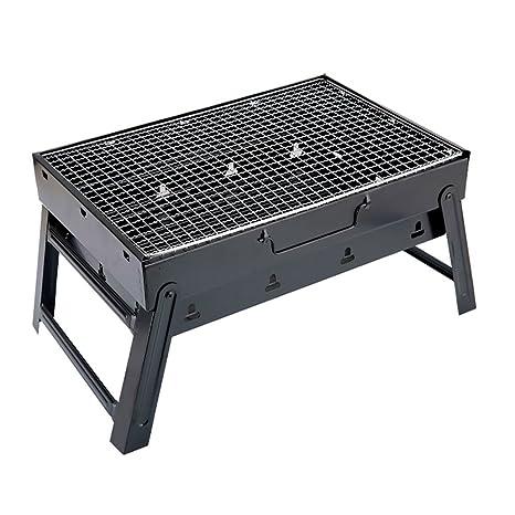 JYKJ Parrilla para exteriores portátil de carbón vegetal de ...
