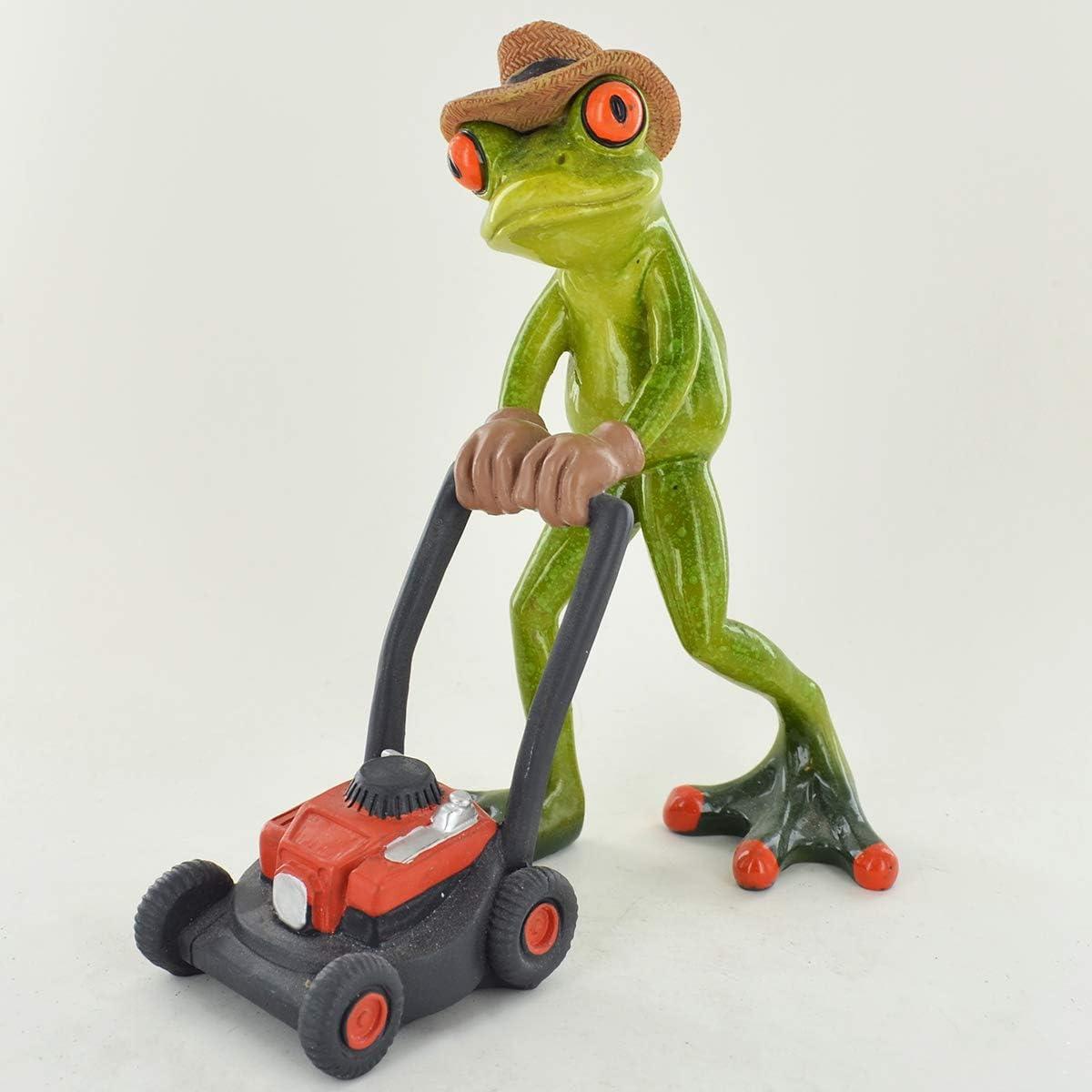 com Comico rane giardiniere/ /piccolo resina figurine Great for home Gift prezents