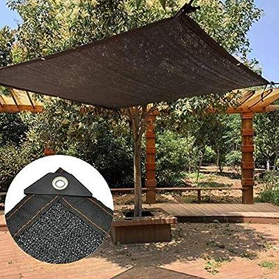 HBHHB Toldos 6 Pines Tasa De Sombreado 70% Lona De Sombra Reforzar Espesar Anti-Envejecimiento Protección UV para Plantas, Invernaderos, Cocheras, Patios,3X3m: Amazon.es: Hogar