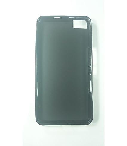 Funda de gel TPU carcasa protectora silicona para BQ Aquaris M5.5 Negra