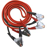 OxGord Jumper Cable Heavy Duty Battery Booster for Most Cars Trucks Vans SUVs - Includes Handy Travel/Storage Bag (4…