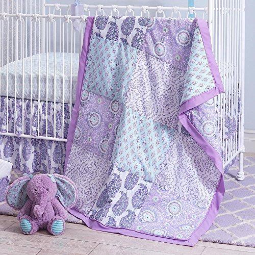 Olivia 4 Piece Baby Crib Bedding Sets [並行輸入品]   B077ZRD15T