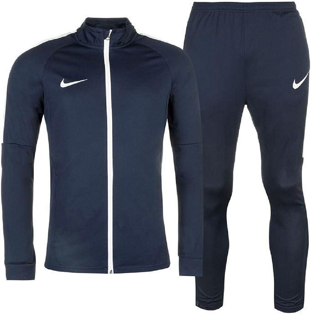 Chándal deportivo de calentamiento de 2 piezas para hombre, chaqueta y pantalones, línea Academy