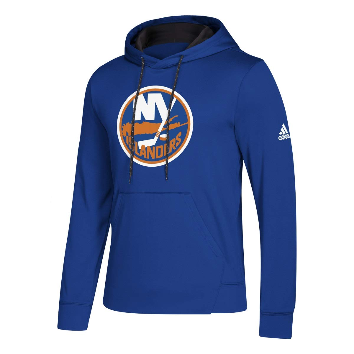 899025de3 Amazon.com  adidas New York Islanders Blue 2018-19 Synthetic Hooded  Sweatshirt Hoody  Clothing