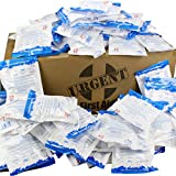 Case of 125 Instant Cold Packs, 5'' x 6'' (4'' x 5'' Cold Area) - Disposable Cold Compresses - No pre-Chilling Required for Quick, Effective First aid Treatment & Relief of Aches, Pains, Bumps & Bruises
