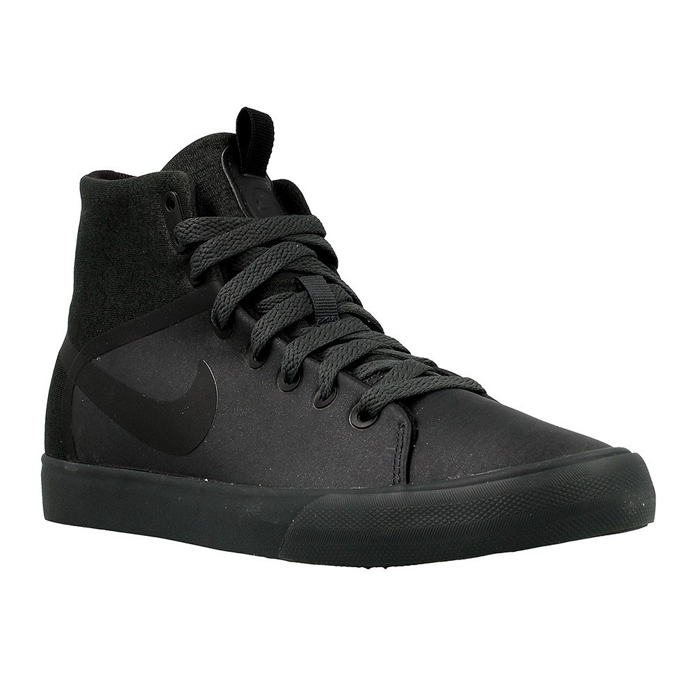 nike Womens Primo Court Mid Mdrn Hi Top Trainers 861673 Sneakers Shoes (US 9, anthracite black 001)