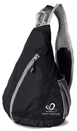 Amazon.com : WATERFLY Packable Shoulder Backpack Sling Chest ...