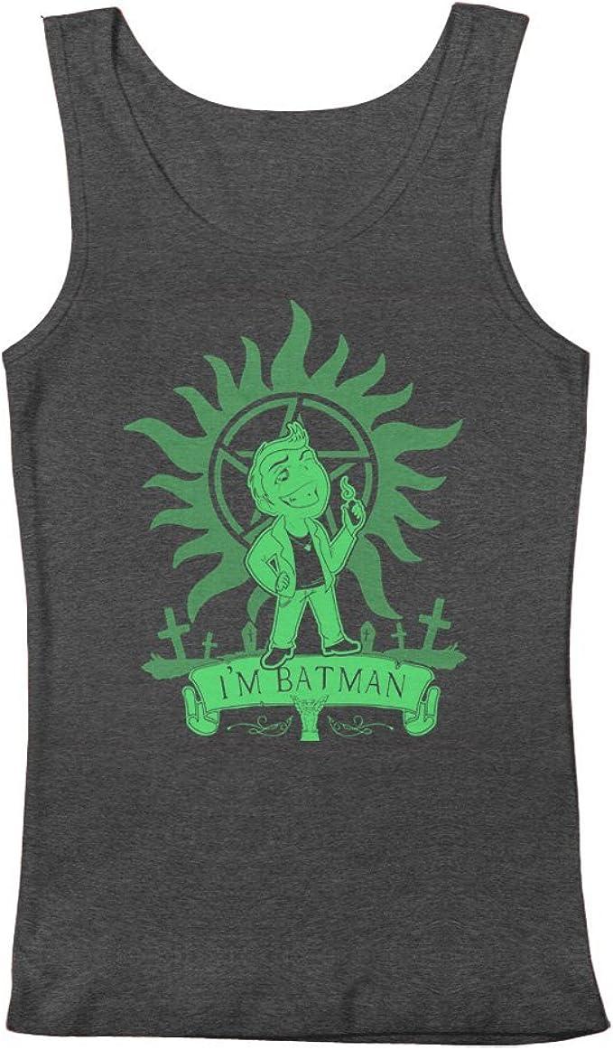 Supernatural Dean Winchester Im Batman Mens Tank Top ...