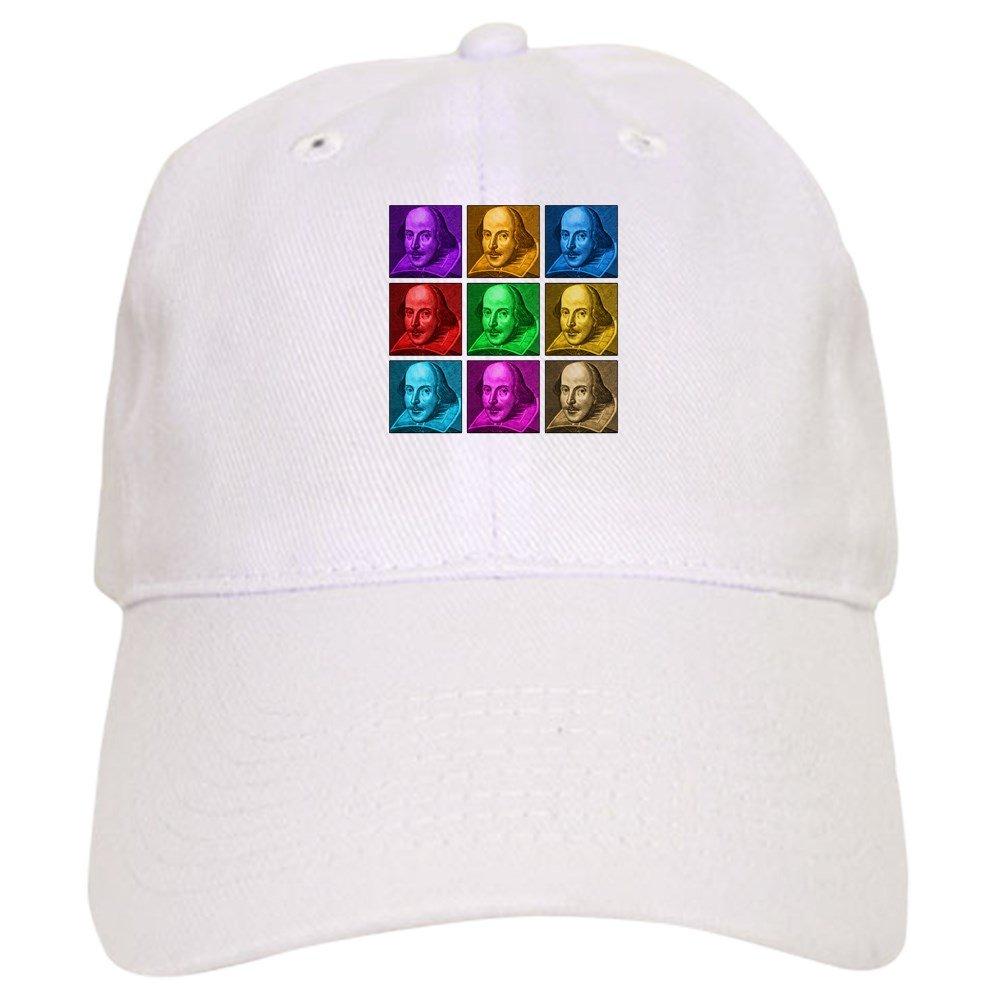 7b3bf769f1fac Amazon.com  CafePress - Shakespeare Pop Art - Baseball Cap with Adjustable  Closure