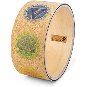 Yoloha Cork Premium Yoga Wheel