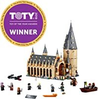 LEGO Harry Potter Hogwarts Great Hall 75954 Building Kit and Magic Castle Toy, Fantasy Creatures, Hermione Granger,...