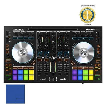 Reloop MIXON 4 DJ Controller for Serato DJ and Algoriddim