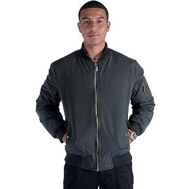 947ed15d6 Erin Garments Black Army Military Padded Bomber Jacket Men Plus Size Navy  Olive Green Flight Winter Windbreaker Coat