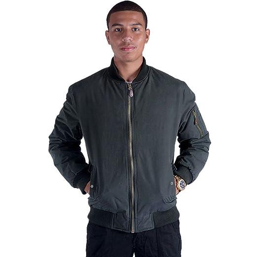 46fc5cd8f Erin Garments Black Army Military Padded Bomber Jacket Men Plus Size Navy  Olive Green Flight Winter Windbreaker Coat