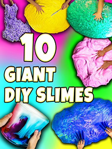 Clip: 10 Giant DIY Slimes