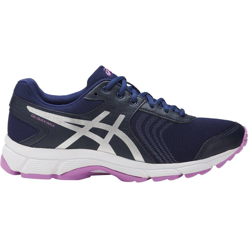 ASICS GelQuickwalk 3 Shoe Women's Walking 11.5 Indigo Blue-Silver-Violet