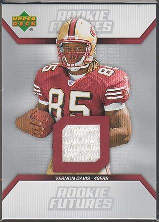 Amazon.com: 2006 Upper Deck Vernon Davis 49ers Rookie Jersey ...