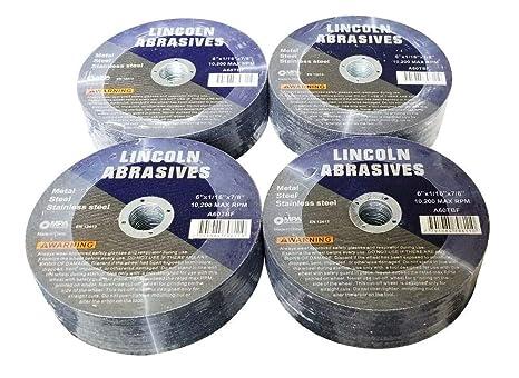 Amazon.com: Discos de corte de rueda de corte de acero ...