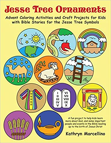 Jesse Tree Ornaments Advent Coloring Activities And Craft Projects