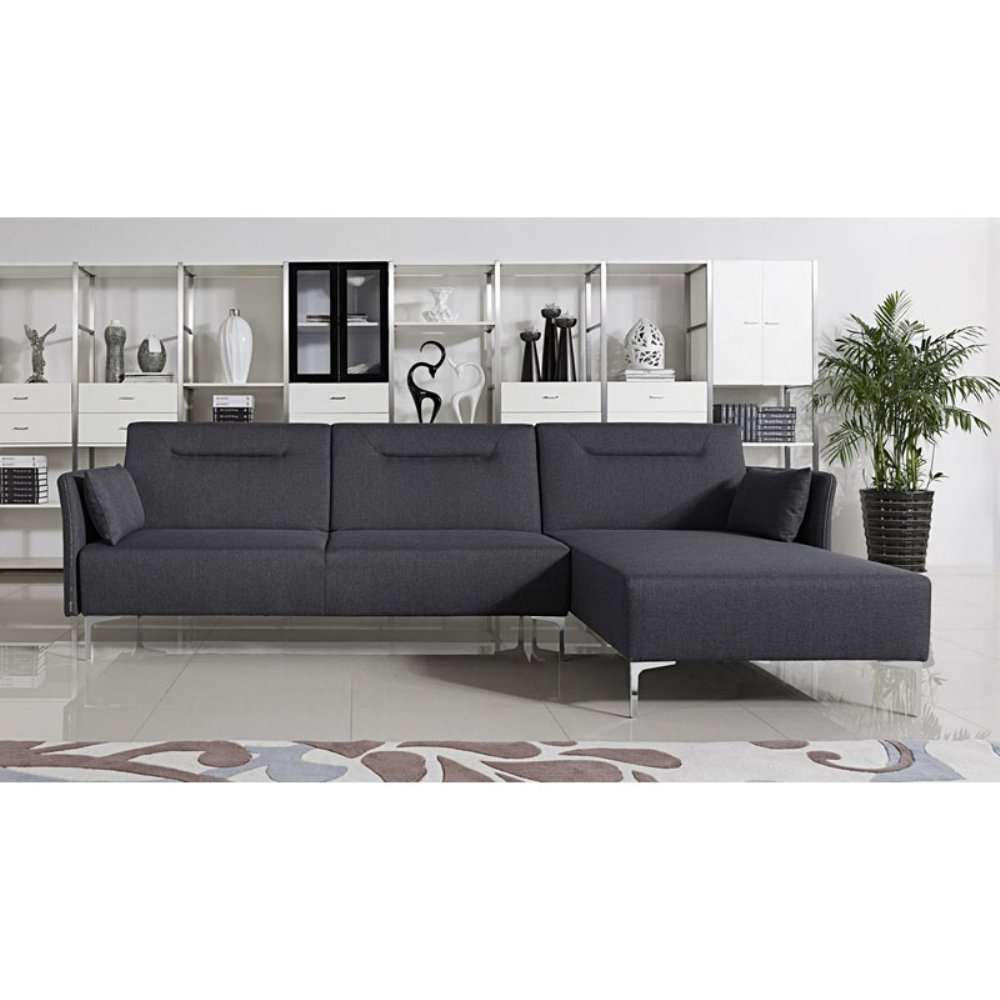 Amazon.com: Divani Casa Rixton Modern Fabric Sectional Sofa ...