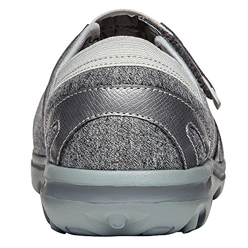 Propét Women's Onalee Mary Jane Flat Grey/Silver free shipping view free shipping order dQmi8ccjH0
