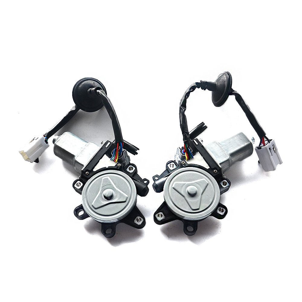 Pair Power Window Motor Set of 2 Fit For Infiniti G35 Coupe Nissan 350Z 80730-CD001 80731-CD001