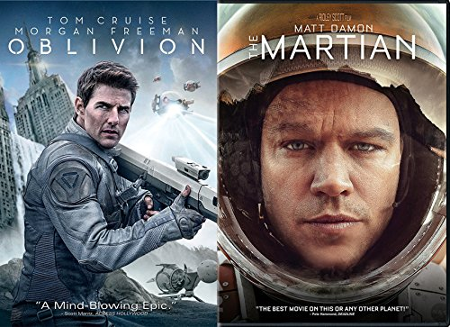 Martian Time and Space Travel Bundle Oblivion Tom Cruise Double Feature 2-Movie - For Face My The Right Glasses