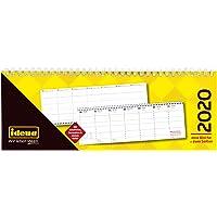 Idena 11403 7 x 11 cm 1 Woche//2 Seite Tischkalender 2020 quer 28 1 St/ück